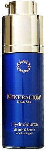 Sérum facial antiedad con minerales del Mar Muerto y vitamina C - Mineralium Hydra Source Vitamin C Serum