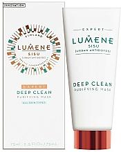 Perfumería y cosmética Mascarilla facial con extracto de corteza de pino y abeto árticos - Lumene Sisu Expert Deep Clean Purifying Mask