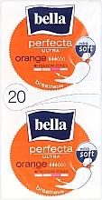 Perfumería y cosmética Compresas sin alas extra suaves 3 gotas Perfecta Ultra Orange, 10+10uds. - Bella