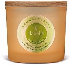Perfumería y cosmética Vela aromática en tarro - Flagolie Fragranced Candle Right Energy