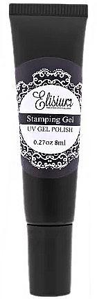 Esmalte gel de uñas para estampado, UV - Elisium Stamping Gel