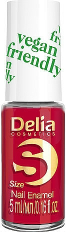 Esmalte de uñas (mini) - Delia Cosmetics S-Size Vegan Friendly Nail Enamel