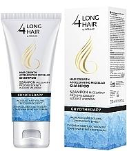 Perfumería y cosmética Champú micelar con mentol y glicerina - Long4Lashes Krioterapia Micellar Shampoo