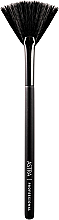 Perfumería y cosmética Pincel en forma de abanico para iluminadores - Astra Make-Up Face Powder Brush