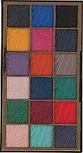 Perfumería y cosmética Paleta de sombras de ojos, 18 colores - Makeup Revolution Wild Animal