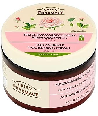 Crema facial con aceite de rosa mosqueta - Green Pharmacy Anti-Wrinkle Vanishing Cream