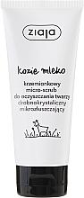Perfumería y cosmética Exfoliante facial con leche de cabra - Ziaja Micro-Scrub