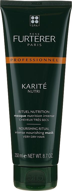 Mascarilla capilar nutritiva con manteca de karité - Rene Furterer Nutri Karite Mask — imagen N1