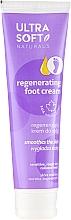 Perfumería y cosmética Crema regeneradora de pies con extracto de algodón - Ultra Soft Naturals Regenerating Foot Cream Smoothes