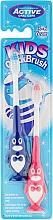 Perfumería y cosmética Cepillo dental suave, pingüino azul y rosa - Beauty Formulas Kids Quick Brush