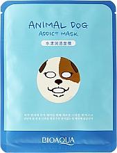 Perfumería y cosmética Mascarilla facial de tejido con proteína de seda y baba de caracol - Bioaqua Animal Dog Addict Mask