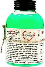 Perfumería y cosmética Espuma de baño, bambú y menta - The Secret Soap Store