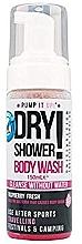 Perfumería y cosmética Espuma para limpieza corporal en seco con aroma a frambuesa - Pump It Up Dry Shower Body Wash Raspberry