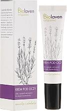 Perfumería y cosmética Crema contorno de ojos con aceite de lavanda - Biolaven Eye Cream