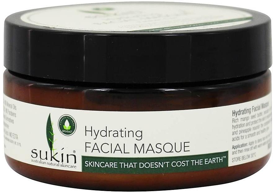 Mascarilla facial con extracto de papaya y aceites de jojoba & aguacate - Sukin Hydrating Facial Masque