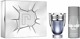 Perfumería y cosmética Paco Rabanne Invictus - Set (edt/100ml + desodorante spray/150ml)