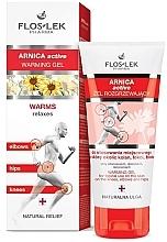 Perfumería y cosmética Gel calmante rico en extracto de plantas para personas activas, deportistas y personas mayores - Floslek Arnica Active Warming Gel