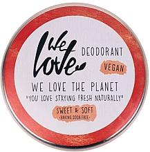 Perfumería y cosmética Desodorante en crema con cera de bayas - We Love The Planet Deodorant Sweet & Soft