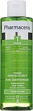 Perfumería y cosmética Tónico facal con extracto de tamarindo, bardana - Pharmaceris T Puri-Sebotonique Normalizing Toner