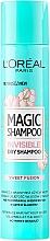 Perfumería y cosmética Champú seco en spray voluminizador con aroma a rosa de peonía - L'Oreal Paris Magic Shampoo Invisible Dry Shampoo Sweet Fusion