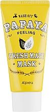 Perfumería y cosmética Mascarilla facial exfoliante con extracto de papaya - A'pieu Fresh Mate Mask