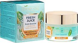 Perfumería y cosmética Crema facial hidratante con jugo de naranja - Bielenda Fresh Juice Booster