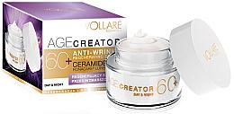 Perfumería y cosmética Crema facial regeneradora con complejo de ceramidas - Vollare Age Creator Regenerating Anti-Wrinkle Cream Day/Night 60+