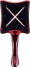Perfumería y cosmética Cepillo paleta, rojo - Ikoo Paddle X Metallic Let's Tango