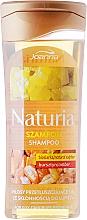 Perfumería y cosmética Champú con bioazufre & ámbar - Joanna Naturia Shampoo Biosandar And Amber