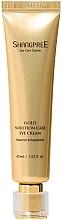 Perfumería y cosmética Crema para contorno de ojos nutritiva con péptidos - Shangpree Gold Solution Care Eye Cream