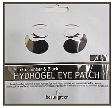 Perfumería y cosmética Parches para contorno de ojos de hidrogel con extracto de pepino - BeauuGreen Sea Cucumber Black