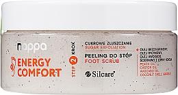 Perfumería y cosmética Exfoliante para pies natural de azúcar - Silcare Nappa Natural Sugar Foot Scrub