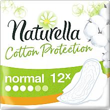 Perfumería y cosmética Compresas con alas, 12 uds. - Naturella Cotton Protection Ultra Normal