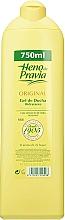 Perfumería y cosmética Heno de Pravia Original - Gel de ducha hidratante con extracto de hoja de olivo