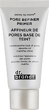 Perfumería y cosmética Prebase de maquillaje matificante y refinadora de poros - Dr. Brandt Pores No More Pore Refiner Primer