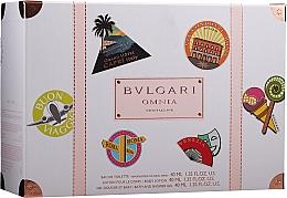 Perfumería y cosmética Bvlgari Omnia Crystalline - Set (edt/40ml + loción corporal/ 40ml + gel de ducha/40ml)