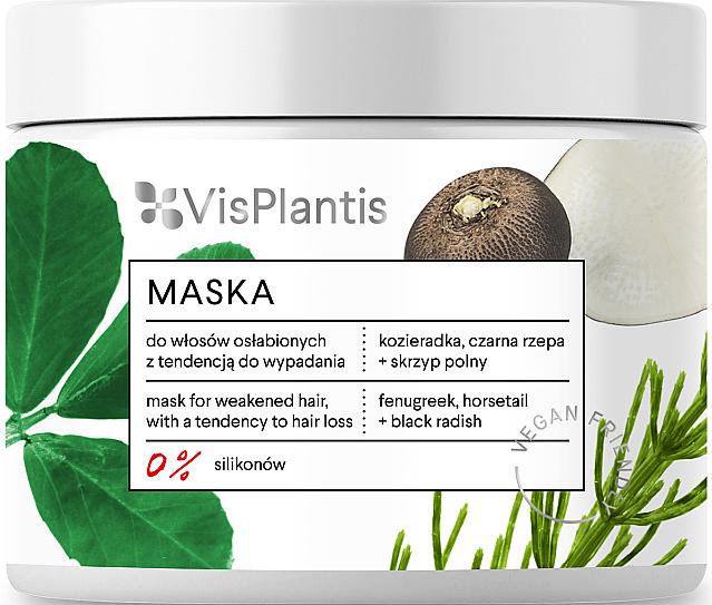Mascarilla capilar con extracto de cola de caballo y rábano negro - Vis Plantis Mask