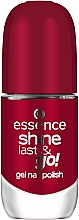 Perfumería y cosmética Esmalte de uñas, efecto gel - Essence Shine Last & Go! Gel Nail Polish