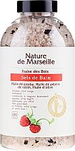 Perfumería y cosmética Sales de baño con aceites de jojoba & semillas de uva - Nature de Marseille