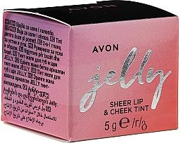 Perfumería y cosmética Tinte de labios y mejillas en gel - Avon Jelly Sheer Lip & Cheek Tint