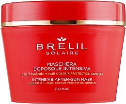 Perfumería y cosmética Mascarilla capilar intensiva aftersun con aceite de tsubaki - Brelil Solaire Intensive After-Sun Musk