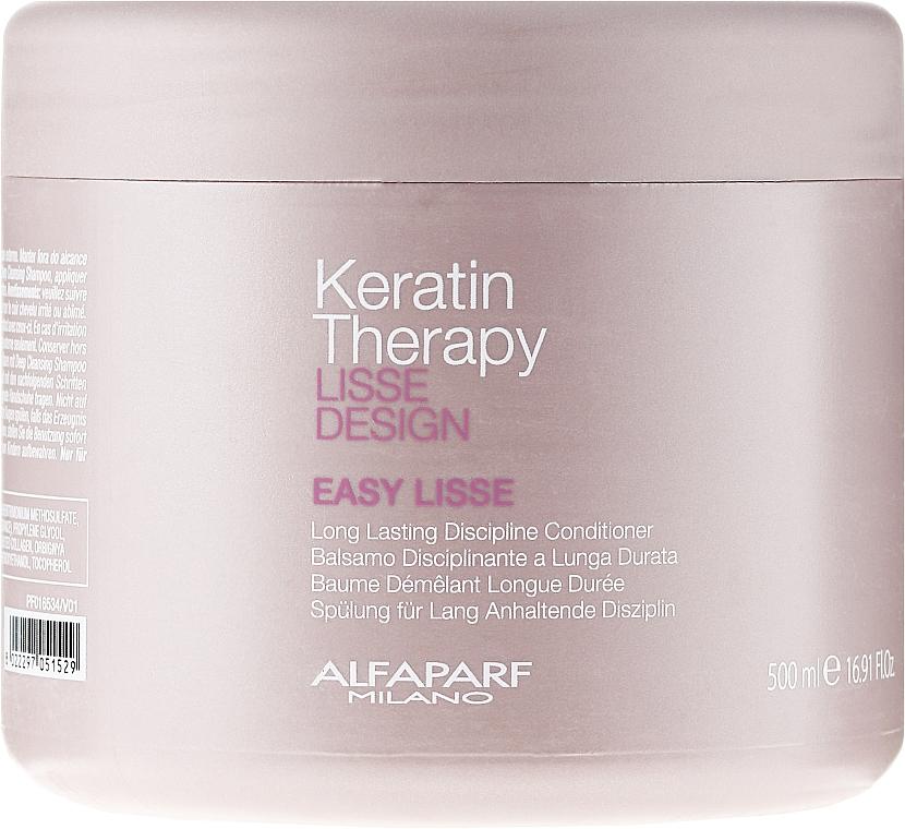 Acondicionador con queratina hidrolizada - Alfaparf Lisse Design Keratin Therapy Easy Lisse — imagen N1