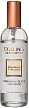 Perfumería y cosmética Ambientador en spray con aroma a jazmín blanco - Collines de Provence White Jasmine