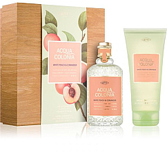 Perfumería y cosmética Maurer & Wirtz 4711 Aqua Colognia White Peach & Coriander - Set (agua de colonia/170ml + gel de ducha/200ml)