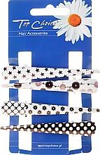 Perfumería y cosmética Horquillas clip de cabello, 25099 - Top Choice