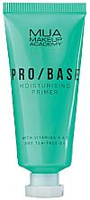 Perfumería y cosmética Prebase de maquillaje hidratante con vitaminas A y C y aceite de árbol de té - Mua Pro/ Base Moisturising Primer