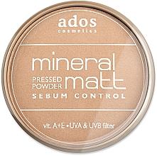 Perfumería y cosmética Polvo facialo compacto matificante - Ados MINERAL MATT