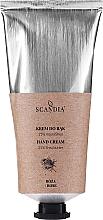 Perfumería y cosmética Crema de manos con 25% de karité, aroma a rosa - Scandia Cosmetics Hand Cream 25% Shea Rose