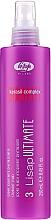 Perfumería y cosmética Spray revitalizante protector de calor con complejo kerasil - Lisap Milano Lisap Ultimate 3 Straight Fluid Spray