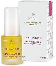 Perfumería y cosmética Aceite facial antiedad con onagra y ximenia - Aromatherapy Associates Anti-Ageing Fine Line Face Oil